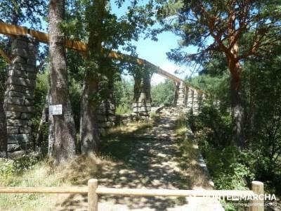 Las Pesquerías Reales - Senderismo Segovia (Ruta de las Pesquerías Reales); excursiones a pie